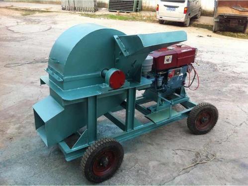 移动式木屑机优化